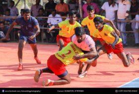 Local Kabaddi Match –  Bhavani