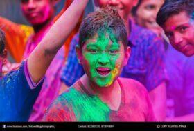 Holi Celebration Erode 2019
